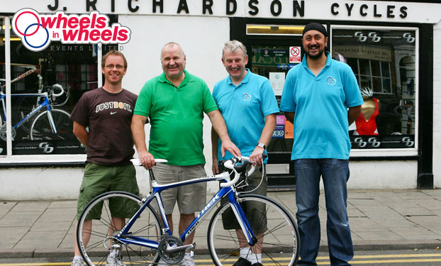 Richardsons Cycle shop St. Ives