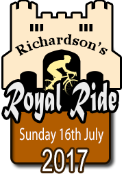 Richardson's Royal Ride, come and try cycling Sportive