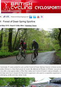British Cycling Forest od Dean spring Classic Report
