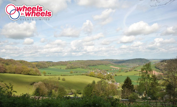 forest of dean spring classic cycling views