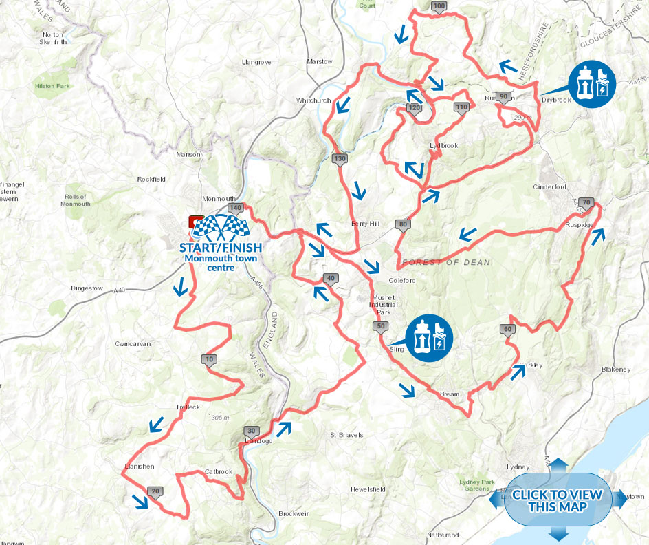 forest of dean spring classic cycling Classic Long route