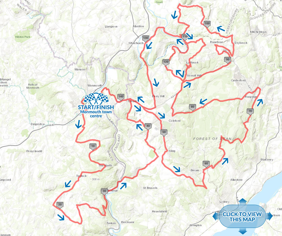 Forest of Dean spring Classic Long Route