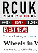 Wheels in Wheels open sportive entries - RCUK Road Cycling UK