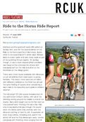RCUK - Ride to the Horns Ride Report