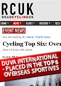 Road Cycling UK places Duva International in the top 6 sportives for 2011